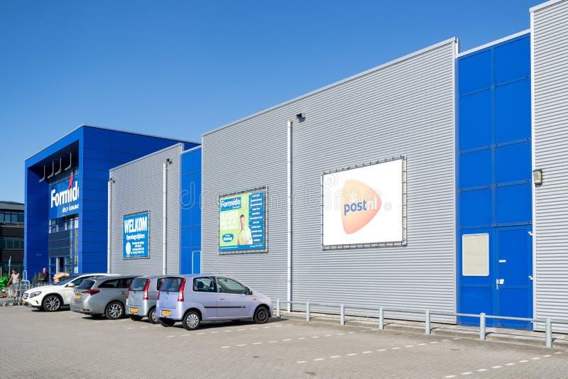 Loja de Formido em Vierspolders, Países Baixos fotos de stock