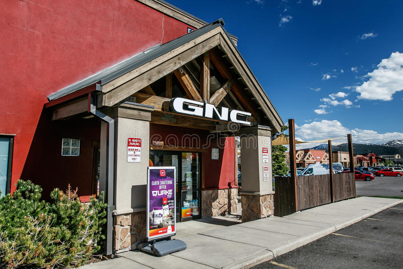 Loja de GNC fotos de stock royalty free