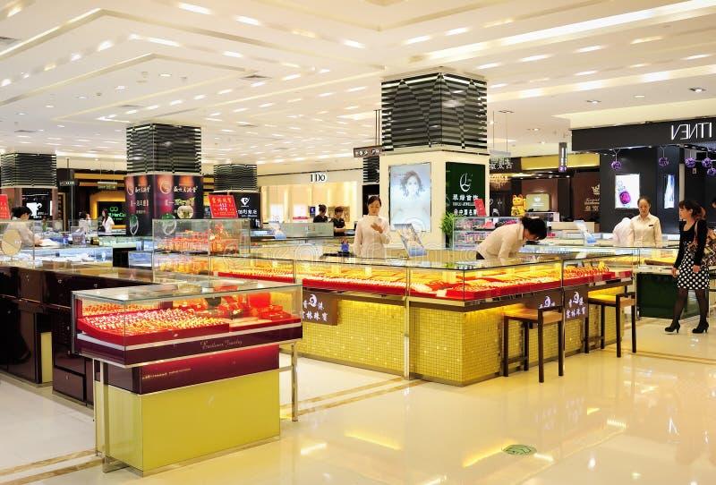 Loja de jóia chinesa foto de stock