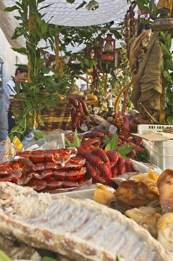 Loja de mantimentos em Feira Franca, Pontevedra fotos de stock royalty free
