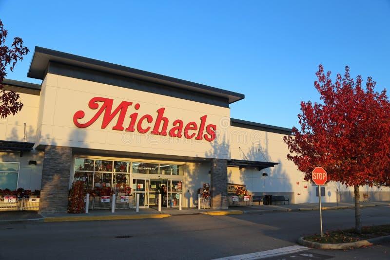 Loja de Michaels fotos de stock royalty free