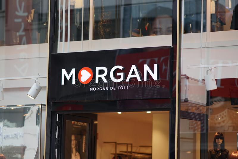 Loja de Morgan De Toi imagem de stock