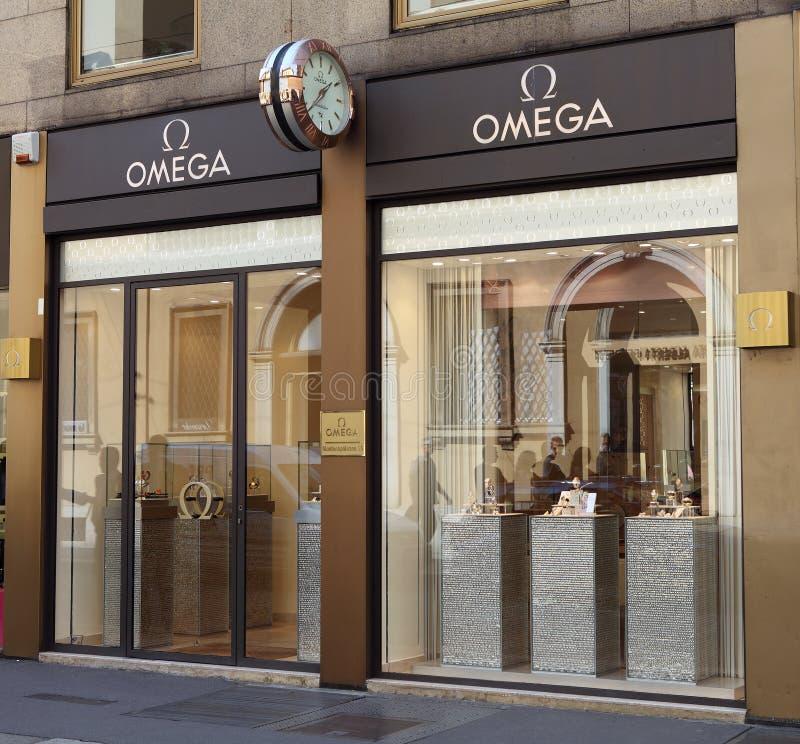 Loja de Omega foto de stock royalty free