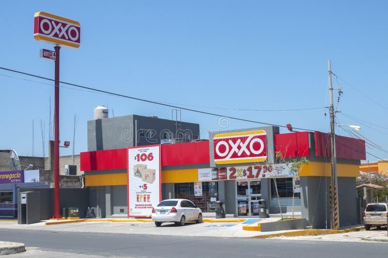 Loja de Oxxo fotos de stock