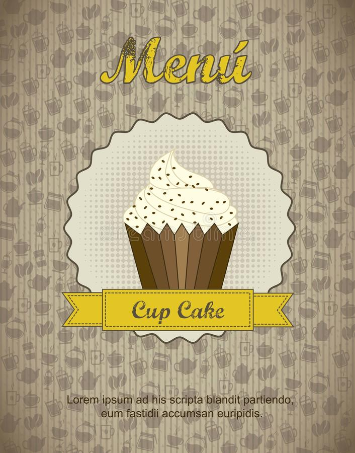 Loja de pastelaria ilustração royalty free