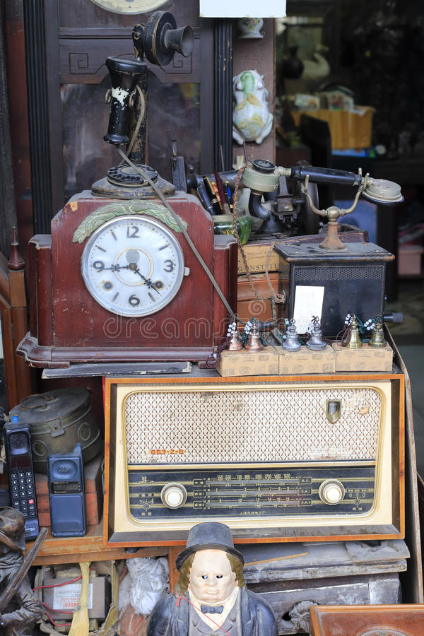 A loja de produtos usados fotografia de stock royalty free