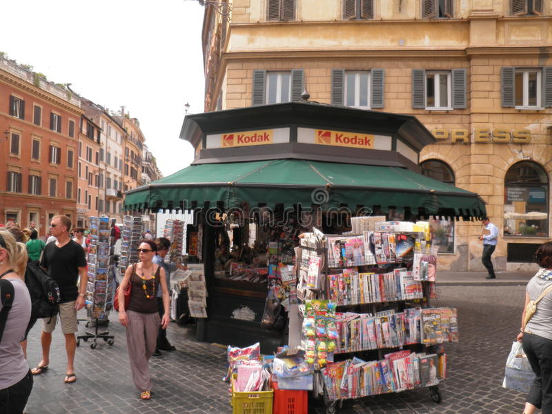 Loja de Roma foto de stock royalty free