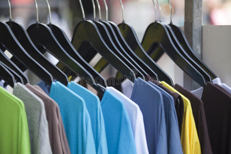 Loja de roupa imagem de stock royalty free
