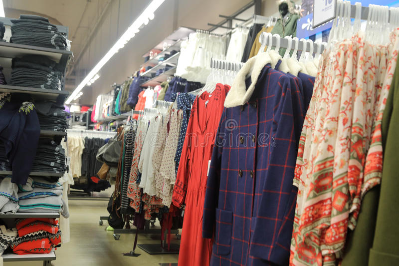 Loja de roupa fotos de stock