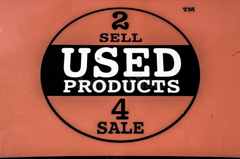Loja de venda dos produtos usados 4 da venda de Logo From 2 em Amsterdão os Países Baixos 2018 fotos de stock royalty free