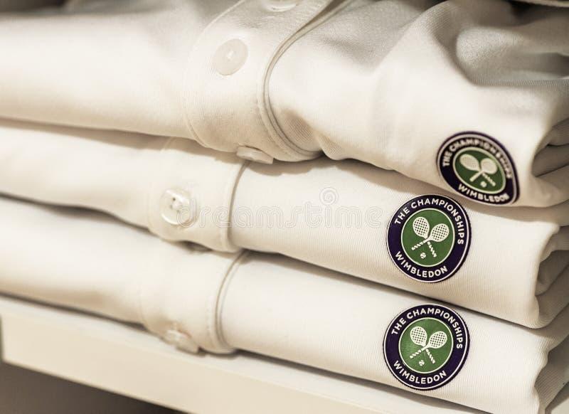 Loja de visita de Wimbledon imagens de stock