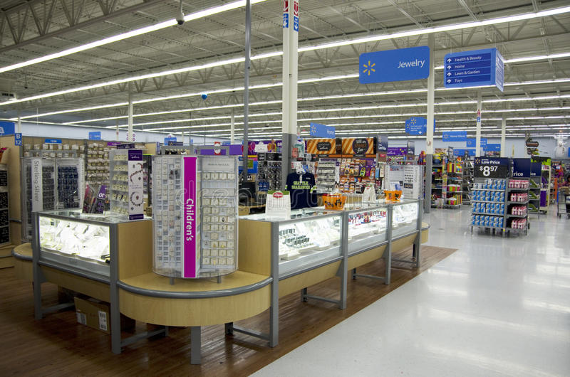 Loja de Walmart fotos de stock royalty free
