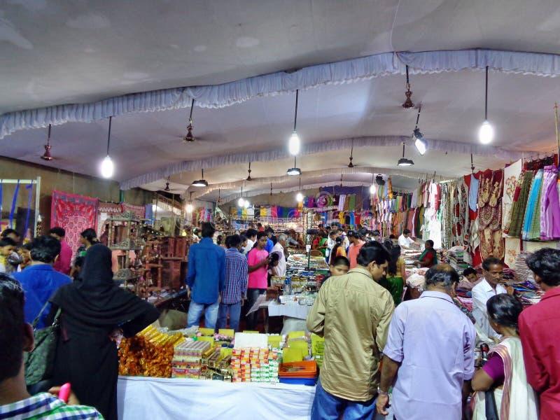 Loja do festival em Kerala foto de stock royalty free