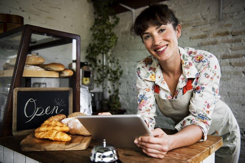 A loja do pão coze a padaria da farinha da massa imagens de stock