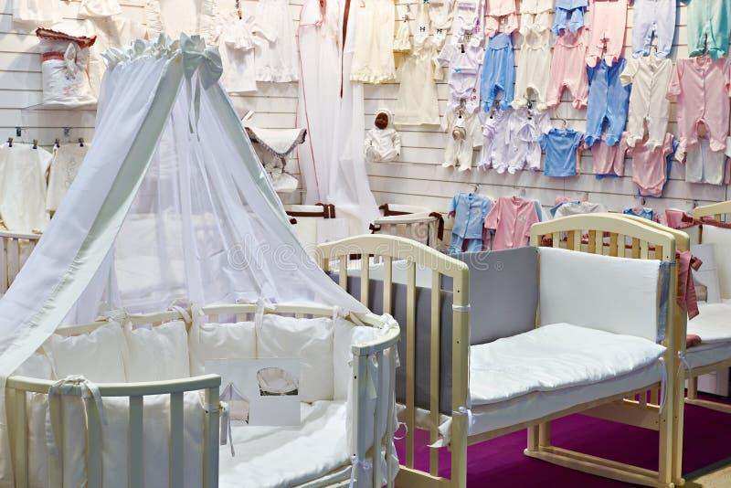 Loja dos bens do bebê imagem de stock royalty free