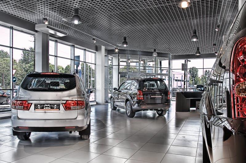Loja dos carros imagens de stock royalty free