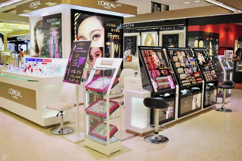 Loja dos cosméticos fotos de stock