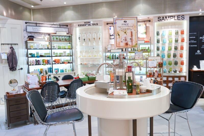 Loja dos cosméticos imagem de stock royalty free