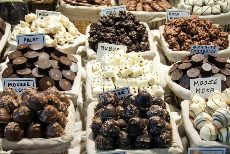 Loja dos doces dos chocolates