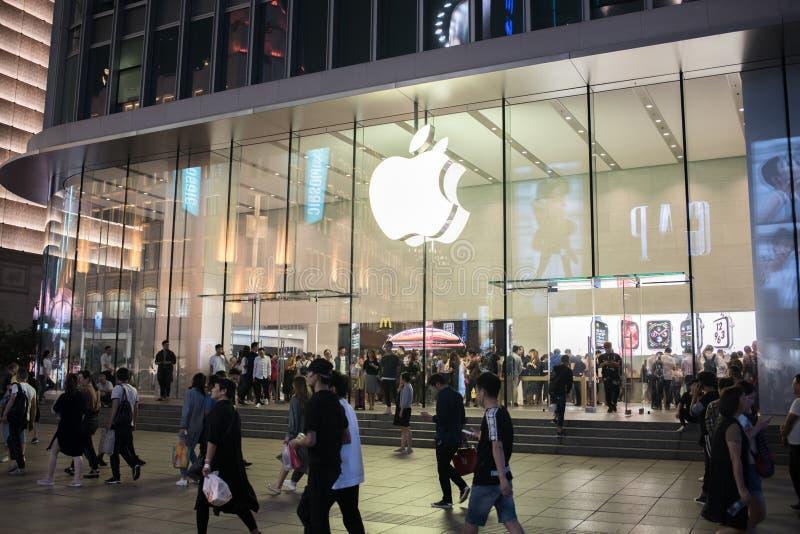loja em Shanghai, China imagens de stock