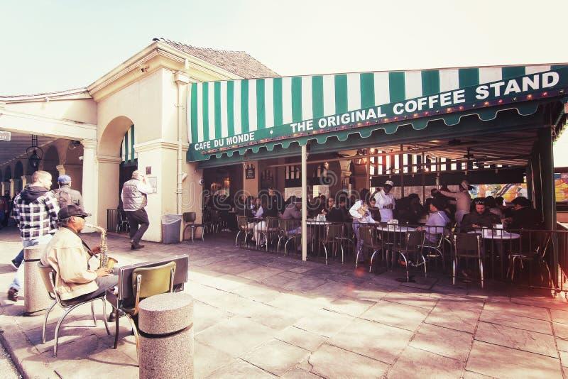 Loja famosa do café fotos de stock