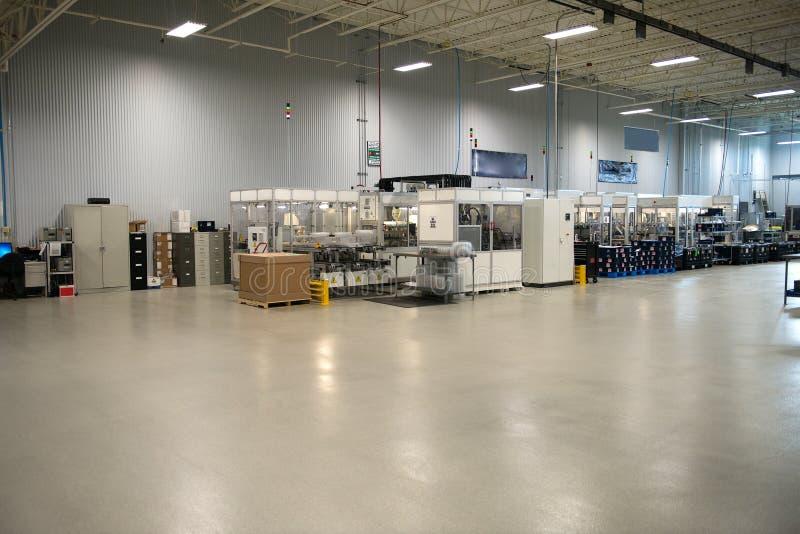 Loja industrial da fábrica da fabricação fotografia de stock royalty free