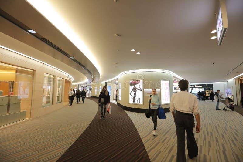 Loja isenta de direitos aduaneiros no aeroporto internacional de Narita fotografia de stock