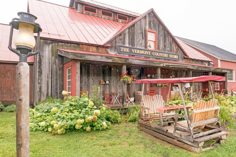 A loja local de Vermont fotografia de stock royalty free