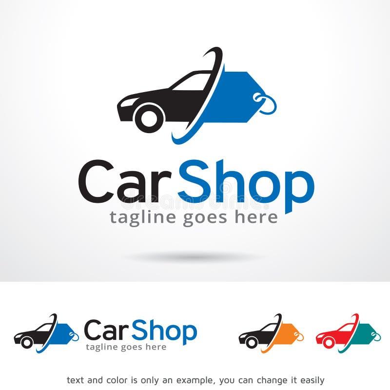 Loja Logo Template Design Vetora do carro ilustração do vetor