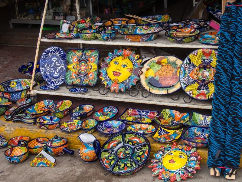 Loja no mercado em Ensenada, Baja, Califórnia, México foto de stock