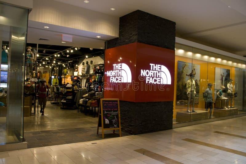 A loja norte da fôrma da cara fotografia de stock