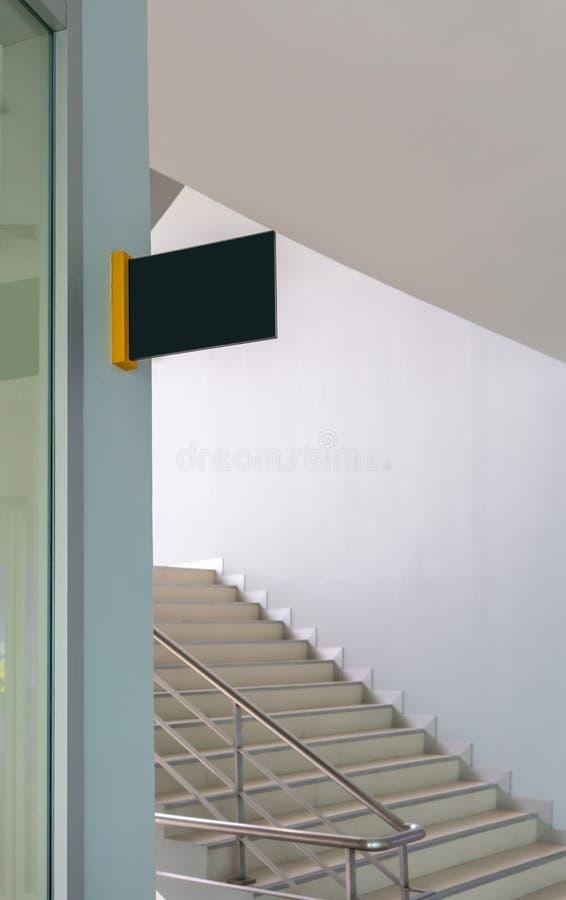 Loja ou restaurante do quadro indicador Zombaria acima Forma retangular imagens de stock royalty free