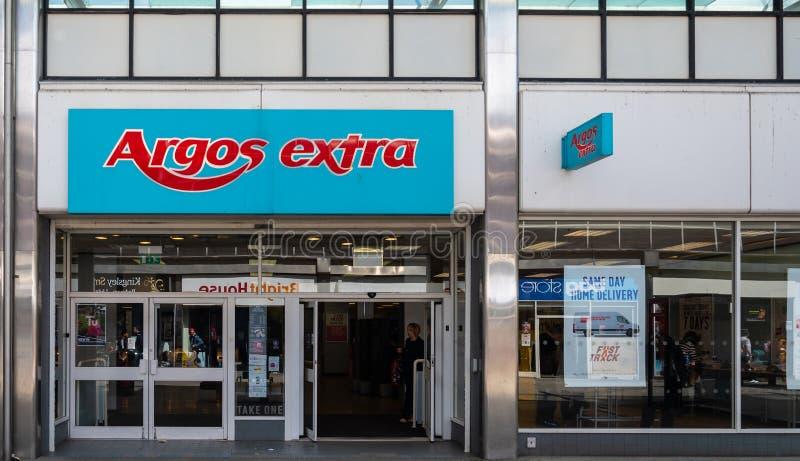 Loja Swindon de Argos fotos de stock