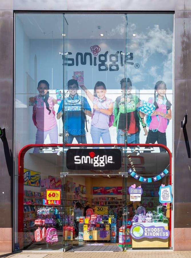 Loja Swindon de Smiggle fotografia de stock