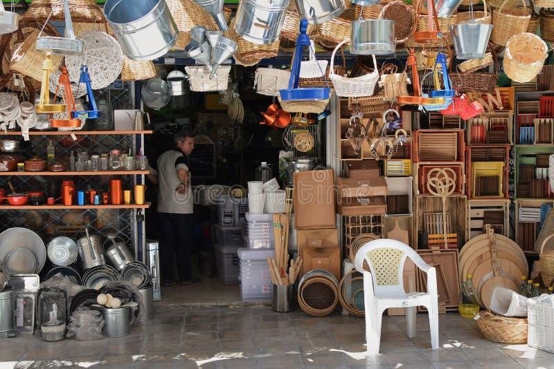 Loja tradicional dos eletrodomésticos fotos de stock