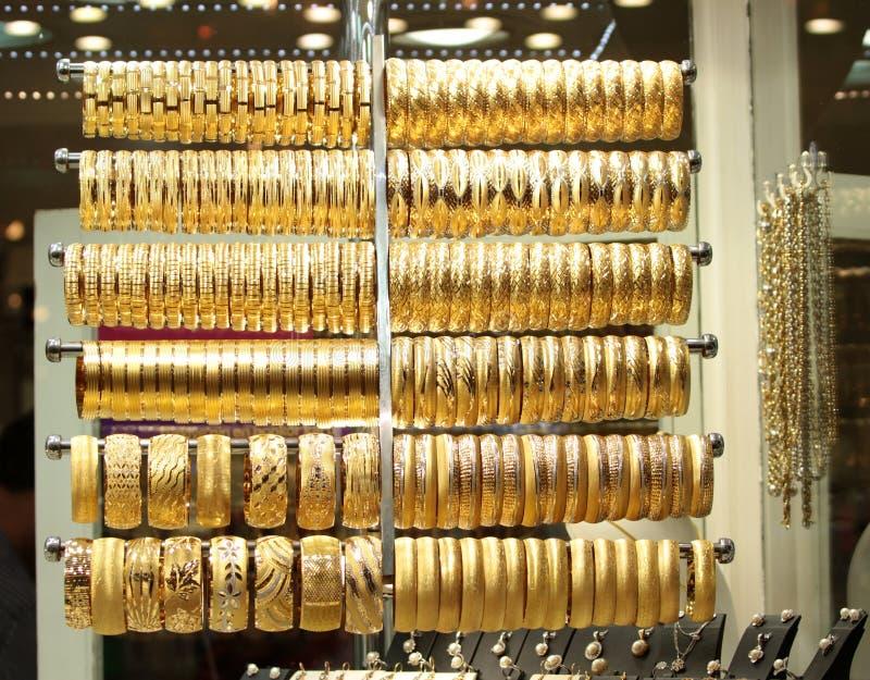 Loja turca do jewelery fotografia de stock