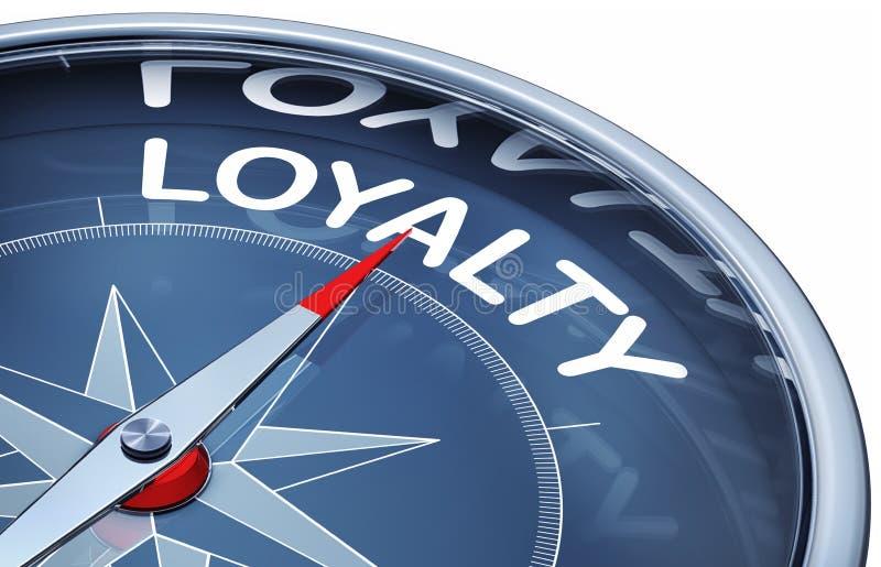 lojalitet royaltyfri illustrationer