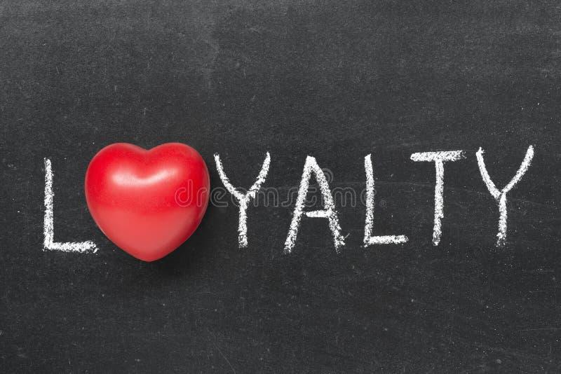lojalitet royaltyfria bilder