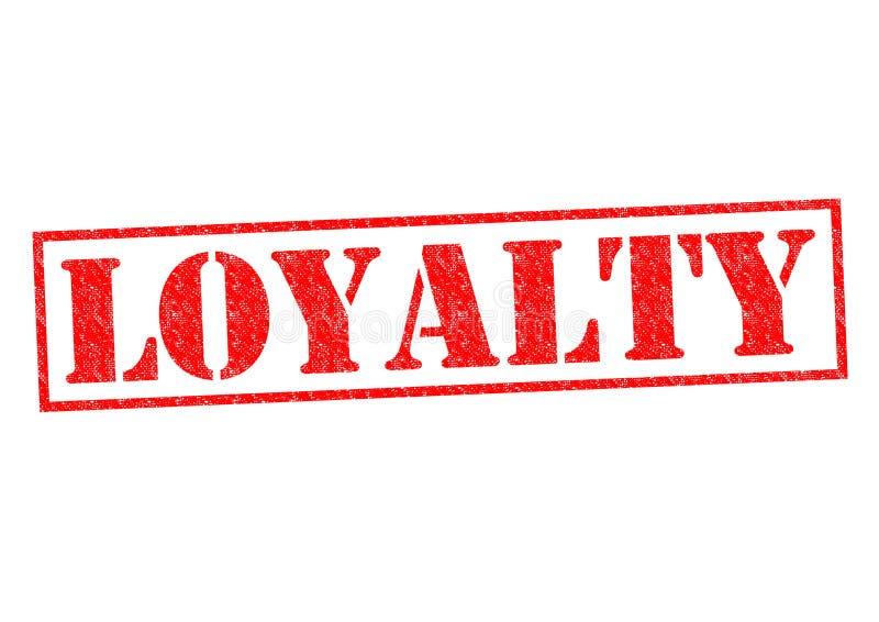 lojalitet stock illustrationer