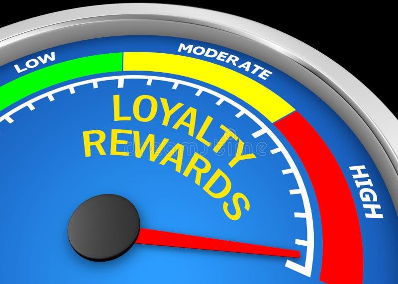 lojalitetbelöningar vektor illustrationer