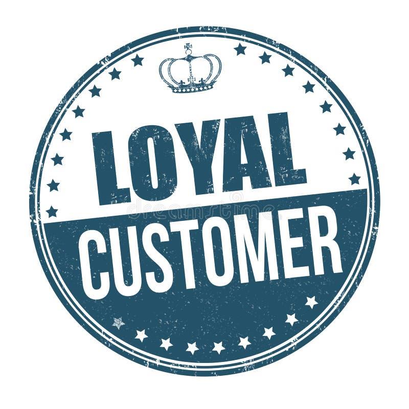 Lojalny klienta znak, znaczek lub ilustracji