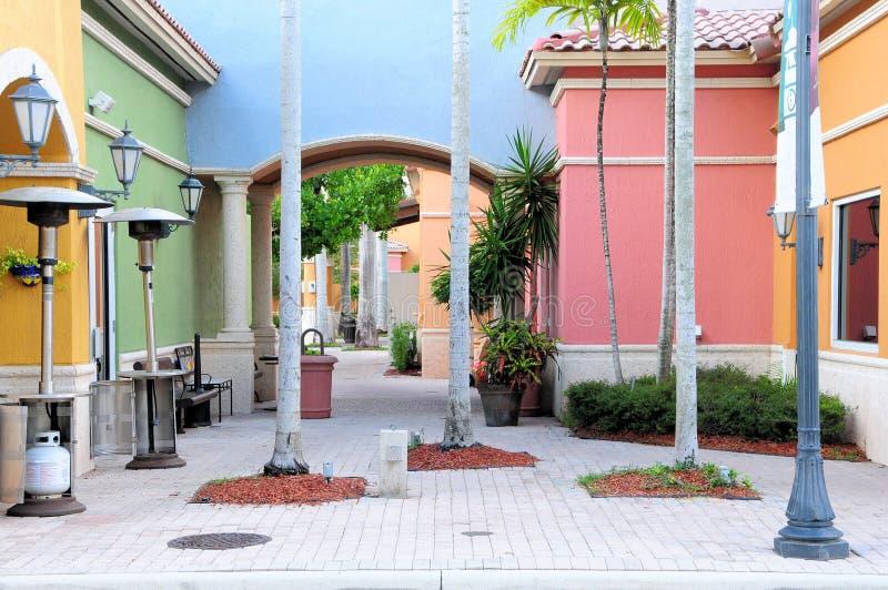 Lojas em Florida sul fotografia de stock