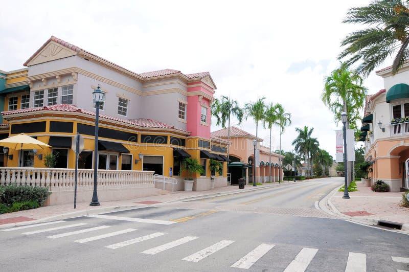 Lojas & restaurantes, FL fotografia de stock royalty free