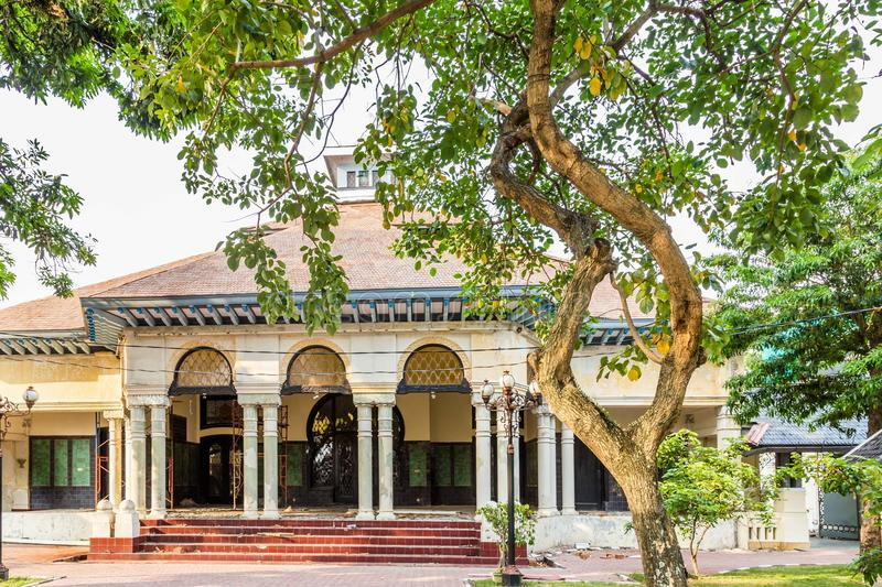 Loji Gandrug, in Solo Indonesia. The official residence of the mayor of Solo royalty free stock photography