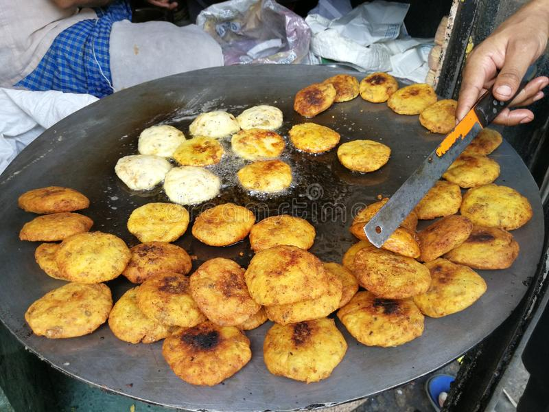 Lokaal Indisch Dessert royalty-vrije stock foto