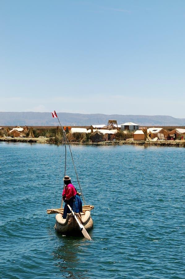 Download Lokaal Op Meer Titicaca Stock Fotografie - Afbeelding: 1703292