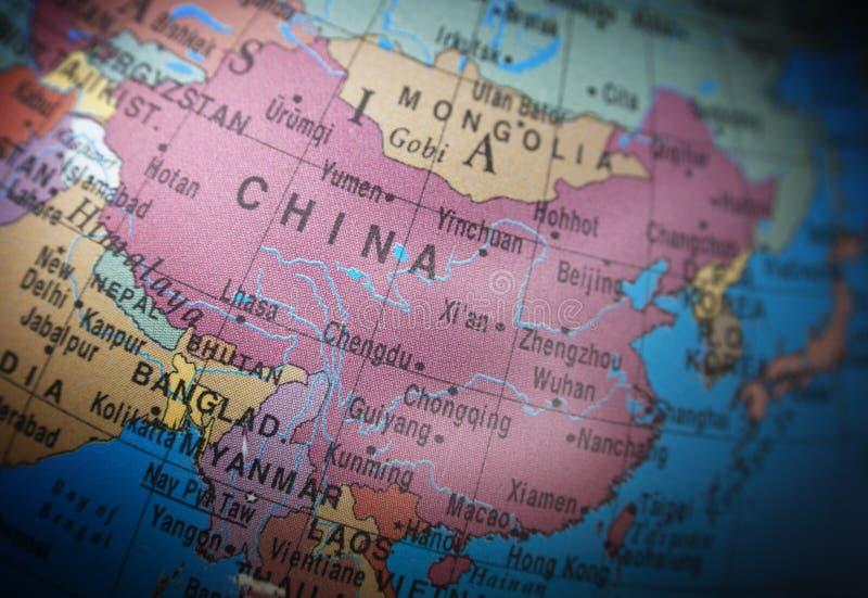 Lokacje: Chiny obraz royalty free