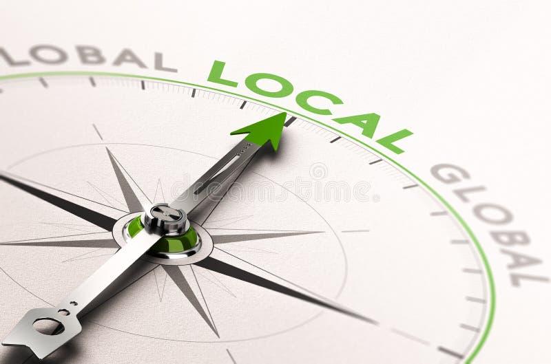 Lokal affär eller service stock illustrationer