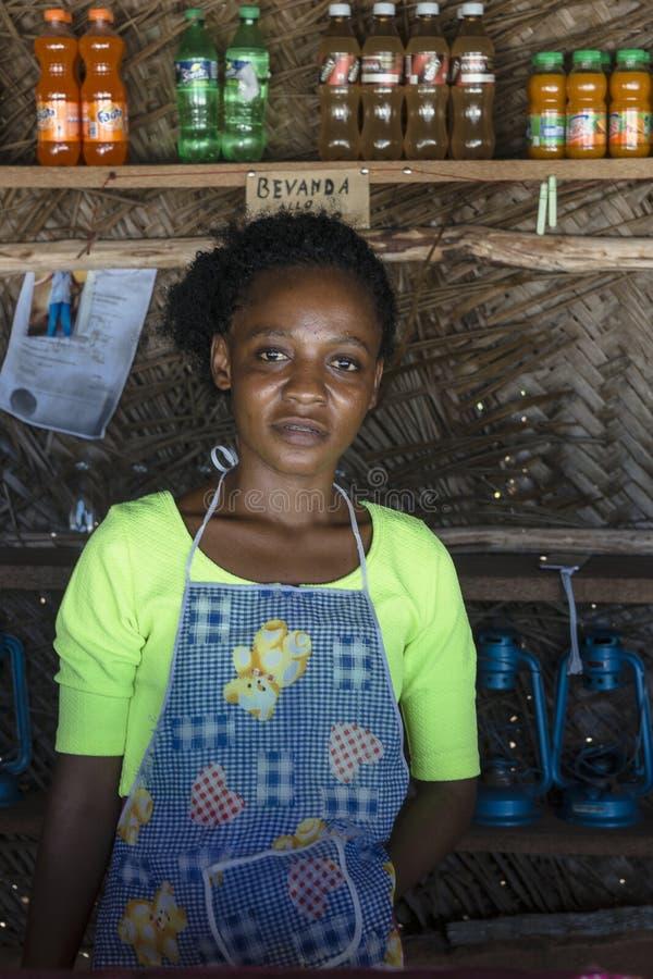 Local woman on Zanzibar royalty free stock photography
