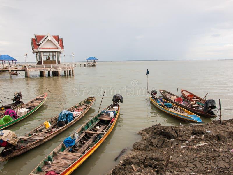 Lokale Fischerboote lizenzfreies stockbild